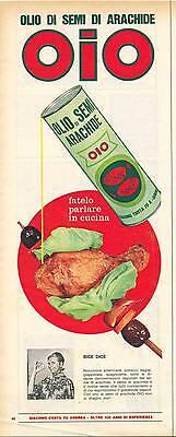 OIO OLIO DI SEMI DI ARACHIDE - ADVERTSIING