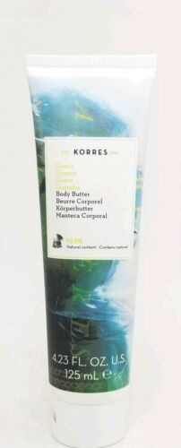 New KORRES Body Butter GUAVA  4.23 oz. / 125 mL SEALED