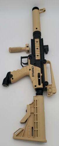 Tippmann Cronus Paintball Marker Gun Player Package (Tactical Tan)