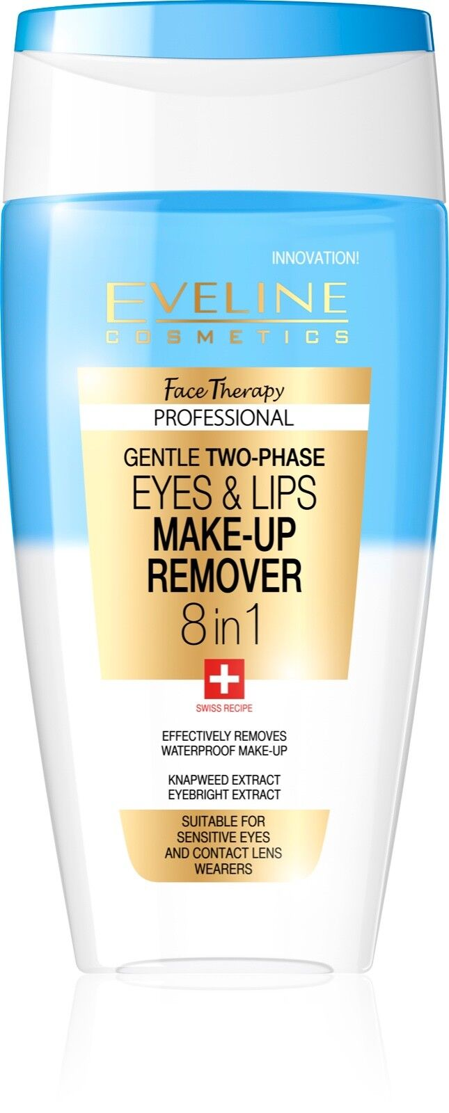 Eveline Face Therapy Delicate Two-Phase 8-in-1 Eye and Lip Make-Up Remover Bath & Body