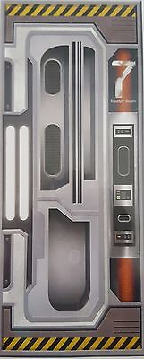 SPACESHIP DOOR COVER Outer Space Party Decoration PHOTO BOOTH