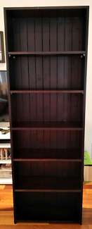 Bookcase black brown