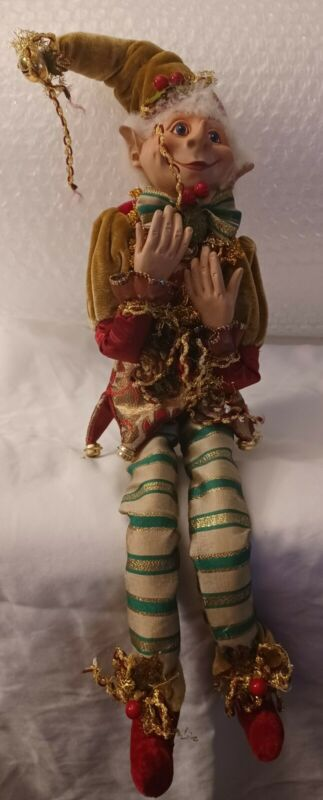 Posable Christmas 🎄Elf 5 inch x 16 inch Free Shipping to the USA