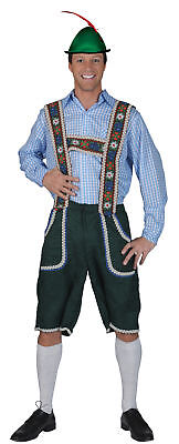 Halloween Costumes With Suspenders (Salzberg Pants With Suspenders Adult Mens Costume European Theme Party)