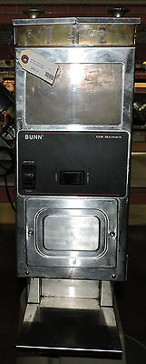 Bunn G9-2 Hd Portion Control Commercial Coffee Grinder W 2 Hoppers