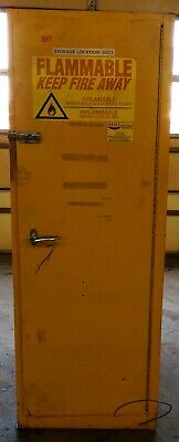 Eagle Flammable Cabinet 1946 48 Gallon Capacity Double Wall Steel
