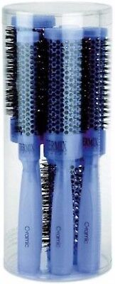3 Termix Hair Brush Ceramic Color Azul Case of 5 Hair Brushes PK-5COLORAZ  for sale  Shipping to India