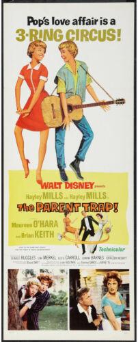 THE PARENT TRAP original 14x36 DISNEY movie poster HAYLEY MILLS/MAUREEN O