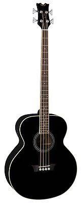Dean Acoustic Electric Bass Guitar Classic Black EAB CBK