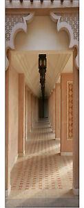 Papier peint pour porte trompe l 39 oeil d co couloir r f 618 for Papier peint pour porte