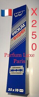 250X WIZAMET SUPER IRIDIUM The Best Razor Blade Double Edge DE Vintage Low