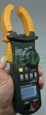 6 Of Ms2108a 4000 Ac Dc Current Clamp Meter Backlight Frq Cap Catiii