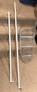 2 Closets Rods and Mini Ironing Board