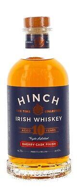 Hinch 10 Jahre Cherry Finish Irish Whiskey - 43% Vol./ 0,7 L