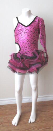 Spandex Child Pink Leopard Jazz/Tap/Dance/Costume