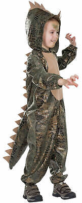 Dino Dinosaurier Kinder Karneval Fasching Kostüm 104-128