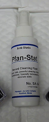 Pfan-Stat Pfanstiehl Record Cleaning Fluid Anti-static LP Vinyl Spray Cleaner
