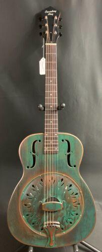 Recording King RM-997-VG Swamp Dog Metal Body Round Neck Resonator Guitar