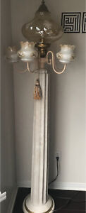 Beautiful antique floor lamp