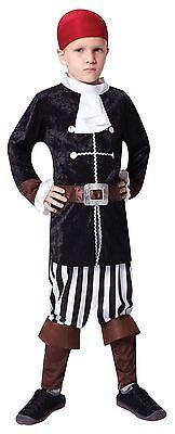 Piraten Kapitän, Klein, Kinder Kostüm Kostüm, Kinder Buch (Piraten Kapitän Kleinkind Kostüm)