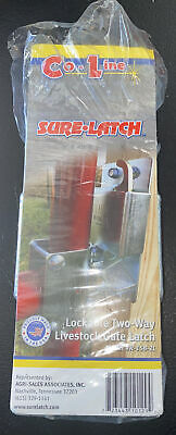 Brand New Co-line Sure-latch Lockable Two-way Livestock Gate Latch R-158-2l