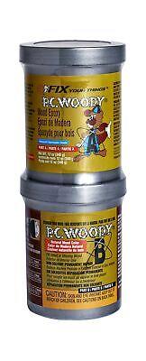 2-part Wood Repair Epoxy Paste 12 Oz. Smooth Permanent Fixing Weather-resistant