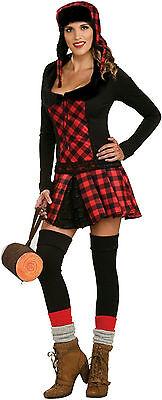 Lumber Jill Sexy Lumber Jack Logger Wood Adult Costume Size Standard](Lumberjack Woman Costume)