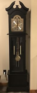 Full scale grandfather clock.