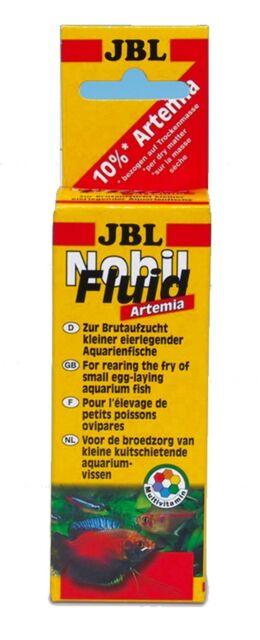 JBL Nobilfluid Artemia 50ml (egg laying fry baby fish food brine shrimp liquid)
