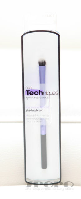 Real Techniques by Sam & Nic Chapman Eyes Shading Brush #1404 100% Authentic