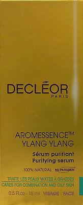 Decleor Aromessence Ylang Ylang Purifying Serum - 0.5 oz / 15 ml  (New In Box) segunda mano  Embacar hacia Argentina