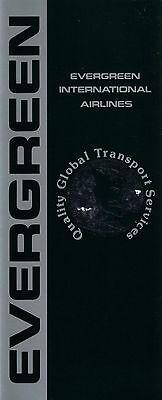 Evergreen International Airlines Informational Brochure