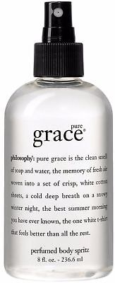 Philosophy Pure Grace Perfumed Body Spray 8 oz
