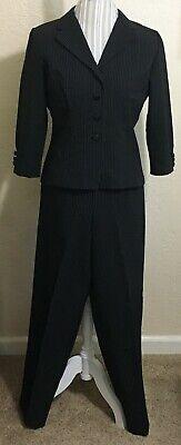 Fashion Bug 2pc Pinstripe Pant Suit size 10