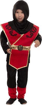 Karneval Kinder Kostüm/Fasching/Halloween-Parties -[ Motive: Ninja] für Jungen ()