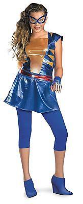 X-Men Weiblich Tween Kostüm Marvel Größe 10-12 (Wild Thing Kostüm)