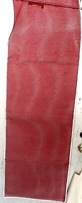 6 Foot Empty Mesh Christmas Stockings- Lot of 10