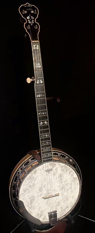 1982 Deering Calico 5-String Banjo