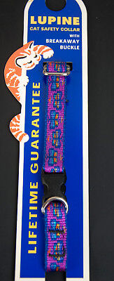 Lupine Cat Safety Collar Breakaway Buckle Adjust 8-12