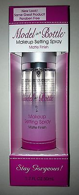 Model in a Bottle Makeup Setting Spray Matte Finish A MUST FOR BRIDES Large Size
