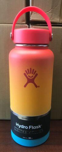 New Hydro Flask 32oz Limited Edition Keiki Rainbow Mai Tai Hawaiian Shave Ice