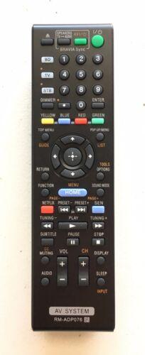 New Usbrmt Remote Rm-adp076 For Sony Av System Bdv-n890w Bdv-n790w Bdv-n990w
