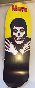 Misfits reissue Old school skate deck gripped