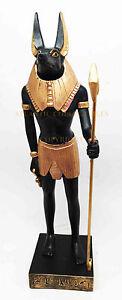 ANCIENT-EGYPT-EGYPTIAN-LARGE-ANUBIS-DEITY-STATUE-FIGURE-GOD-OF-MUMMIFICATION
