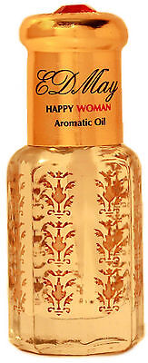 Orange Blossom Perfume Oil (EDMay HAPPY WOMAN Orange Blossom Aromatic Body Oil Skin-safe Perfume 6 ml)