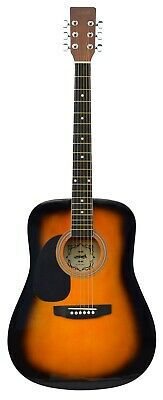 LEFT HANDED - ACOUSTIC GUITAR Fullsize 41'' ( Free Shipping in USA )