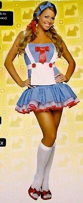 Roma Dorothy Babe Sexy Halloween Costume Wizard of Oz Dress 4052 Small/Medium - Dorothy Wizard Oz Halloween Costume
