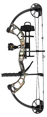 New Bear Archery Cruzer Rth 5-70# Right Hand Bow Package Kanati Camo