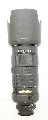 # Nikon NIKKOR 80-200mm f/2.8 AF-S D IF ED Lens - S/N 248267
