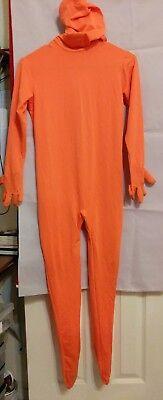 Orange Morph Suit Morph 2nd Skin Halloween Costume Kids M Boy 8-10 USA - Morphsuit Halloween Usa